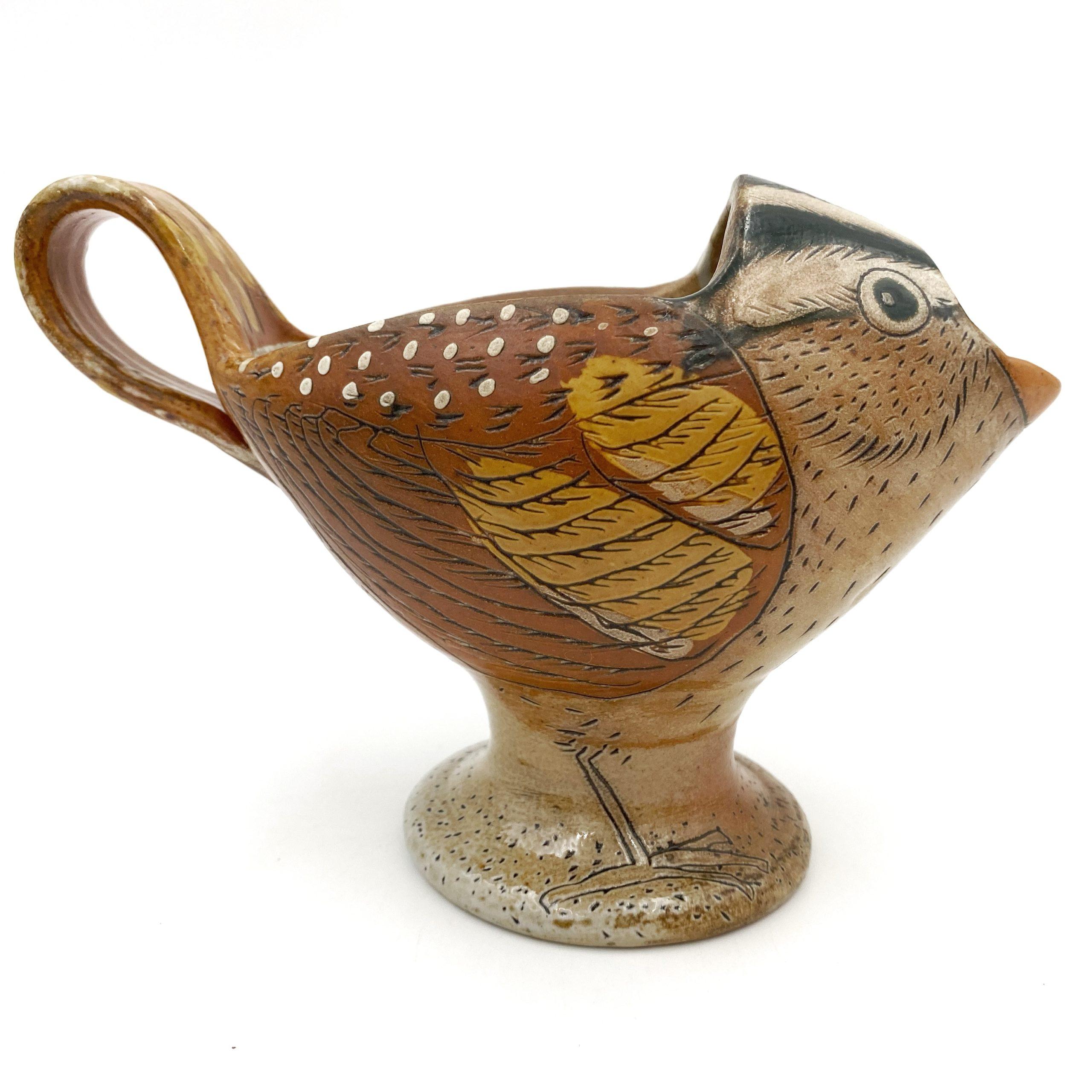 bird pitcher